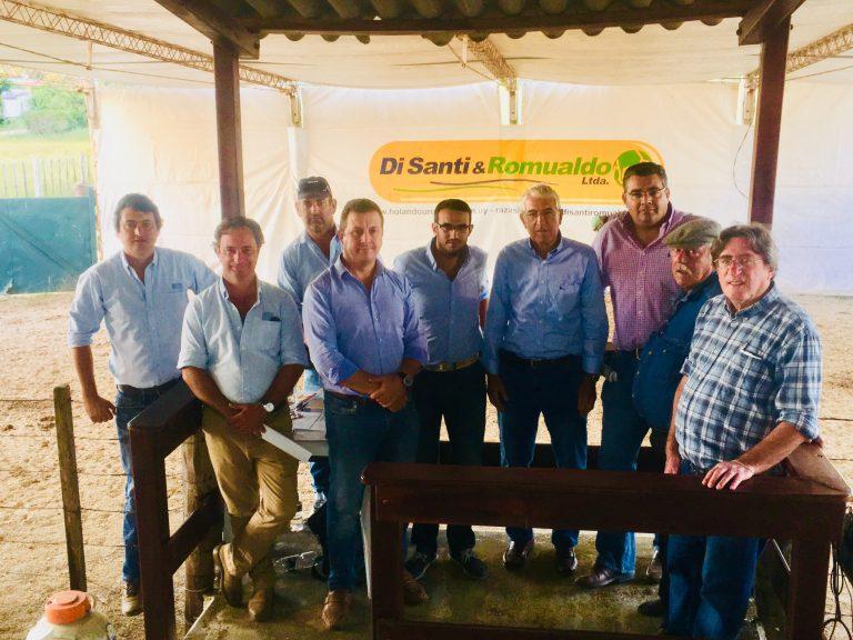 Buen inicio de zafra de ganado lechero hizo Di Santi y Romualdo